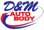 D&M Auto Body Logo Small